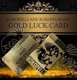 【KOKOPELL GOLD LUCK CARD】